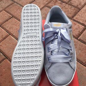 8cb1dde2e32f Puma Shoes - Puma Vikky platform ribbon sneaker